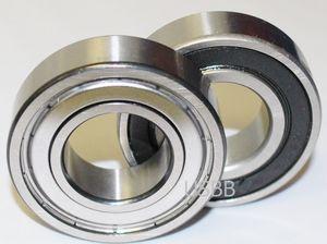 s6204/2RS//ss6204/2RS Rodamiento de Bola de acero inoxidable 20/x 47/x 14/mm Calidad Industrial din625/ /1/con bolas de precisi/ón de G10/6204ss 6204RS s6204rs